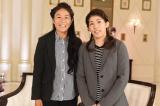 TBS系ドキュメンタリー番組『バース・デイ』500回記念SPは、ナレーションを担当する東山紀之と、澤穂希選手(左)、吉田沙保里選手(右)の鼎談をたっぷり1時間。12月5日放送(C)TBS