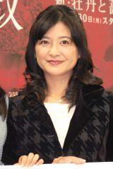 『新・牡丹と薔薇』で主人公の母親を演じる伊藤かずえ (C)ORICON NewS inc.