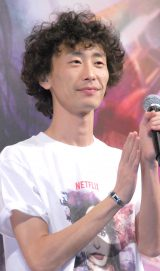 Netflixオリジナルドラマ『ジェシカ・ジョーンズ』上映イベントに出席したGAG少年楽団・坂本純一 (C)ORICON NewS inc.