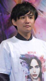 Netflixオリジナルドラマ『ジェシカ・ジョーンズ』上映イベントに出席した御茶ノ水男子のおもしろ佐藤 (C)ORICON NewS inc.