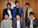 奥村伸二(前列中央)がレコーディングに復帰し6人そろったINSPi