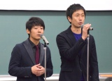 ロザン(左から)菅広文、宇治原史規 (C)ORICON NewS inc.