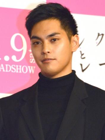 映画『ピンクとグレー』完成披露試写会舞台あいさつに登壇した柳楽優弥 (C)ORICON NewS inc.