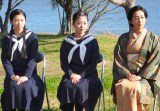 次期朝ドラ『とと姉ちゃん』の取材会に出席した(左から)相楽樹、高畑充希、木村多江 (C)ORICON NewS inc.