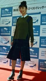 『第41回 靴のめぐみ祭り市』第8回日本シューズベストドレッサー賞女性部門を受賞したおのののか (C)ORICON NewS inc.