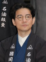『海賊とよばれた男』制作報告会見に出席した吉岡秀隆 (C)ORICON NewS inc.