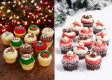 ローラズカップケーキからクリスマスメニューが登場
