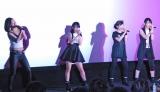イベントで4曲熱唱したOnePixcel(左から)狐塚来愛、鹿沼亜美、傅彩夏、田辺奈菜美 (C)ORICON NewS inc.