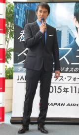 スーツ姿で登場した阿部 (C)ORICON NewS inc.