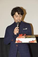 映画『俳優 亀岡拓次』特別試写会に出席した安田顕