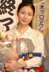 松下奈緒(2010年8月「ゲゲゲの女房」クランクアップ時撮影) (C)ORICON NewS inc.