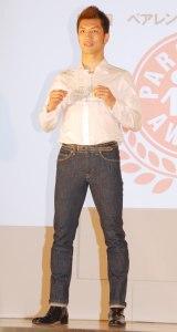 『第8回 ペアレンティングアワード』授賞式に出席した村田諒太選手 (C)ORICON NewS inc.