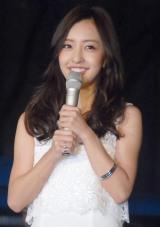 『表参道イルミネーション2015』点灯式に出席した板野友美 (C)ORICON NewS inc.