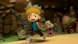 レベルファイブの新作『スナックワールド』のアニメが『映画 妖怪ウォッチ エンマ大王と5つの物語だニャン!』と同時上映で初登場。12月19日全国ロードショーだニャン!(C)LEVEL−5/project SNACK WORLD