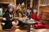 田中麗奈が猫娘、大泉洋がねずみ男を演じた(C)2008 「ゲゲゲの鬼太郎」フィルムパートナーズ
