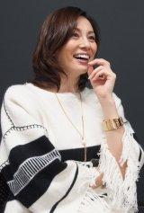 「格好つけなくていい信子は演じていて楽しい」と語る米倉。また一つハマり役が増えた (C)ORICON NewS inc.