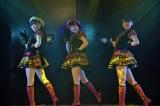 「Bye Bye Bye」(左から)北澤早紀、朝長美桜、小嶋真子=高橋朱里チーム4『夢を死なせるわけにいかない』公演初日 (C)ORICON NewS inc.