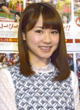 来年の紅白出場に意欲を見せたモーニング娘。'15の石田亜佑美 (C)ORICON NewS inc.