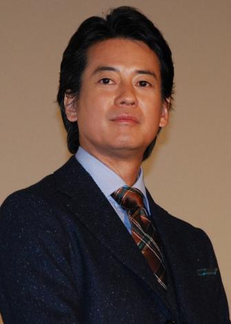映画『杉原千畝 スギハラチウネ』初日舞台あいさつに登壇した唐沢寿明 (C)ORICON NewS inc.