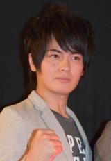 映画『アウターマン』の初日舞台あいさつに出席した古原靖久 (C)ORICON NewS inc.