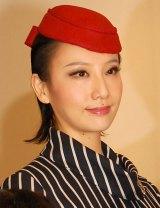 NHKドラマ『紅白が生まれた日』取材会に出席した大空祐飛 (C)ORICON NewS inc.