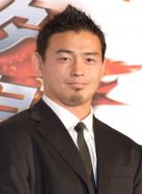 芸能イベントに初登場したラグビー日本代表の五郎丸歩選手 (C)ORICON NewS inc.