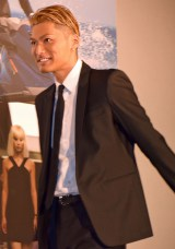 映画『トランスポーター イグニション』大ヒット記念舞台あいさつに出席したEXILE SHOKICHI (C)ORICON NewS inc.