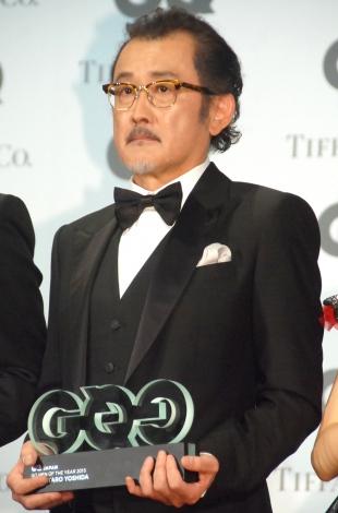 『GQ MEN of the Year 2015』授賞式に出席した吉田鋼太郎 (C)ORICON NewS inc.