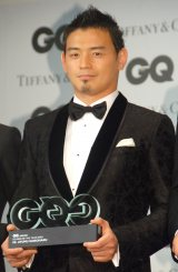 『GQ Men of the Year 2015』授賞式に出席した五郎丸歩選手 (C)ORICON NewS inc.