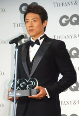 『GQ Men of the Year 2015』授賞式に出席した松岡修造 (C)ORICON NewS inc.