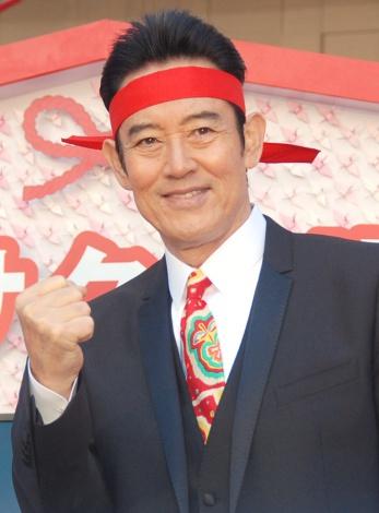 ラグビー熱が再熱に喜びを語った山下真司=『渋谷区 受験生応援宣言プロジェクト』キックオフイベント (C)ORICON NewS inc.