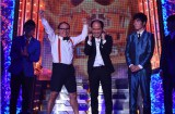 5年ぶりの開催された『M-1グランプリ2015』トレンディエンジェルが優勝。関西で最高視聴率29.2%を叩きだしたシーン(C)ABC