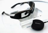 ユーミンが着用した透過式メガネ型端末「SmartEyeglass(スマートアイグラス)」
