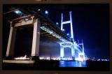 岩崎氏がスマートフォンで撮影した夜景