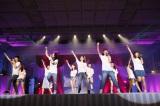 2期生による「転がる石になれ」『AKB48劇場オープン10年祭』の模様  (C)AKS