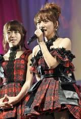 ファンに感謝する高橋みなみ=『AKB48劇場オープン10年祭』  (C)AKS