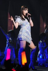 譜久村聖=『モーニング娘。'15コンサートツアー秋〜PRISM〜』 (C)ORICON NewS inc.