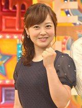 『第12回 好きな女性アナウンサーランキング』で3連覇を達成した水卜麻美アナ (C)ORICON NewS inc.
