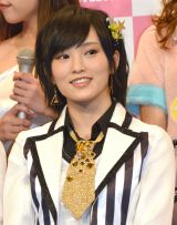 AKB10周年記念公演で歯が欠けたNMB48の山本彩 (C)ORICON NewS inc.