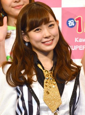 『KawaiianTV SUPER LIVE 2015』の囲み会見に出席したNMB48の渡辺美優紀 (C)ORICON NewS inc.