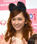 『KawaiianTV SUPER LIVE 2015』の囲み会見に出席したDoll☆Elementsの小泉遥 (C)ORICON NewS inc.