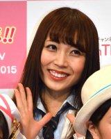 『KawaiianTV SUPER LIVE 2015』の囲み会見に出席したユメノカケラの水川華奈 (C)ORICON NewS inc.