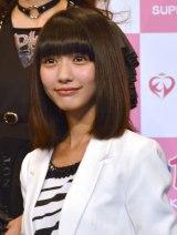『KawaiianTV SUPER LIVE 2015』の囲み会見に出席した夢みるアドレセンスの荻野可鈴 (C)ORICON NewS inc.