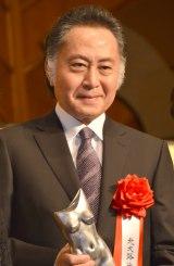『平成27年(第44回)ゆうもあ大賞』贈呈式に出席した北大路欣也 (C)ORICON NewS inc.