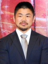 『第60回有馬記念ドリームアーチ』点灯式に出席した田中史朗選手 (C)ORICON NewS inc.