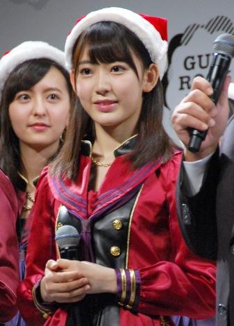 『GUM ROCK FES.In 日本武道館』開催発表記者会見に出席した宮脇咲良 (C)ORICON NewS inc.