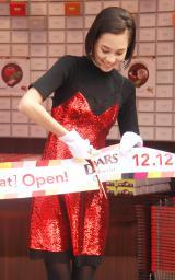 『DARS Chocolat Boutique』オープニングセレモニーに出席した水原希子 (C)ORICON NewS inc.