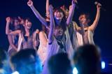 全国ライブハウスツアー発表にメンバーも大喜び (C)NMB48