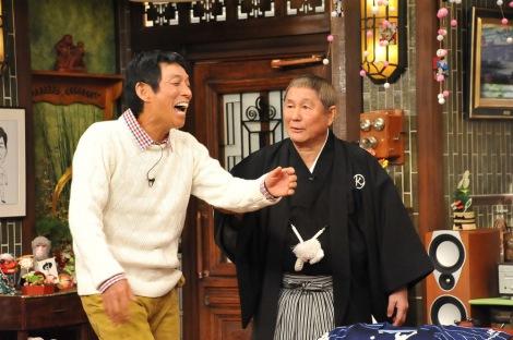 来年1月2日放送の関西テレビ・フジテレビ系『新春大売り出し!さんまのまんま30周年スペシャル』ビートたけしが出演(C)関西テレビ