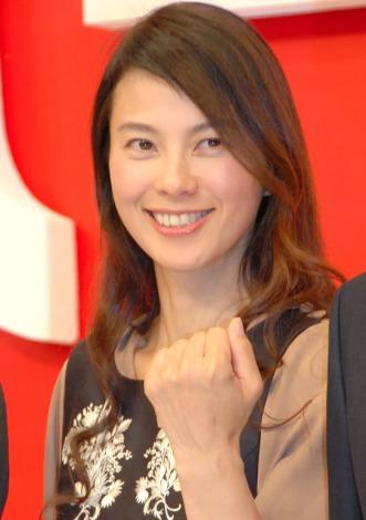日本テレビ開局60年特別番組『日本一テレビ』記者発表会に出席した江角マキコ (C)ORICON NewS inc.